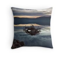Journeys end Throw Pillow