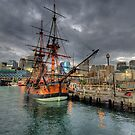 Endeavour - HMB Endeavour - Australian National Maritime Museum - The HDR Experience by Philip Johnson