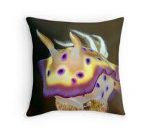 Kunes Chromodoris (Nudibranch) Throw Pillow