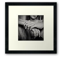 slow down, slow down, slow... Framed Print