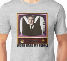 Misner shirt 'Work hard my people' Unisex T-Shirt