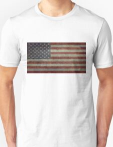"""Flag of the United States of America - Authentic ratio 10:19 """"G-spec"""" for """"government specification"""" Unisex T-Shirt"""