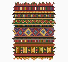 Ethnic Colorful Pattern Africa Art Kids Clothes