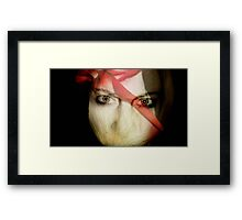 Red Rummy Mummy Framed Print