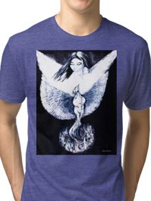 Phoenix Rising from Ashes Tri-blend T-Shirt