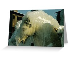 Ice Horse, Firenze Greeting Card