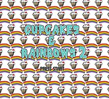 cupcakes & rainbows 2 by gasponce