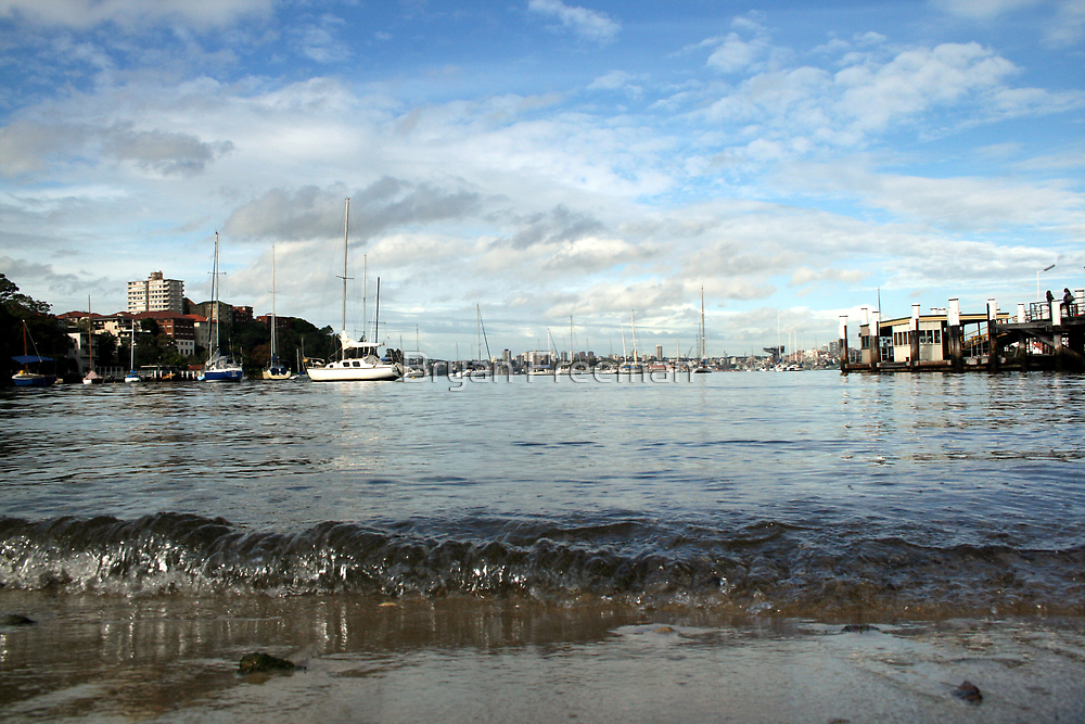Neutral Bay Wharf by Bryan Freeman