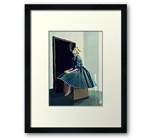 Frilly Framed Print