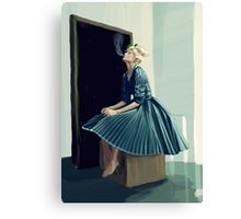 Frilly Canvas Print