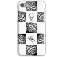 Hairy Checkers iPhone Case/Skin