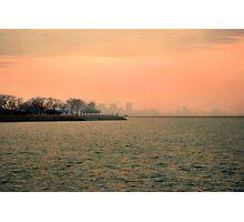 Sundown in Chi-Town Photographic Print