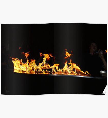 fire in the air Poster