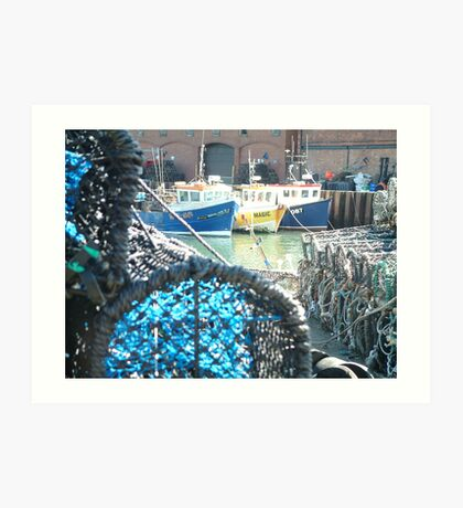 Harbour Art Print