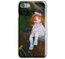Sarang in the garden iPhone Case/Skin