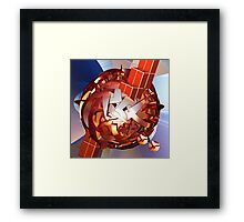 The Space Ball Framed Print