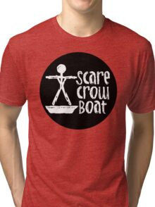 The Band Known as Scarecrow Boat  Tri-blend T-Shirt