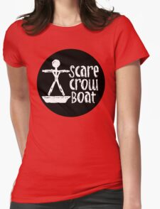 The Band Known as Scarecrow Boat  Womens Fitted T-Shirt