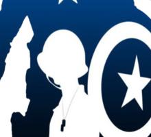 Captain America Sticker