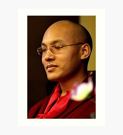 His Holiness 17th Karmapa | Orgyen Trinlay Dorje  Art Print