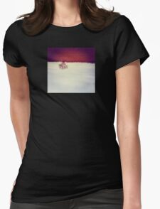 One Red Tree Womens Fitted T-Shirt