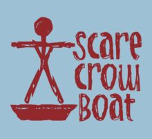 Scarecrow Boat Bachalor Party Edition Kids Tee