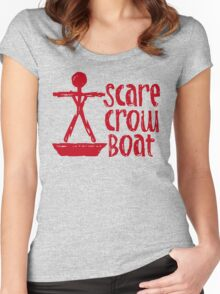 Scarecrow Boat Bachalor Party Edition Women's Fitted Scoop T-Shirt