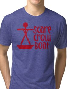 Scarecrow Boat Bachalor Party Edition Tri-blend T-Shirt