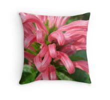 Plume Flowers Throw Pillow