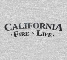LA Noire California Fire & Life Logo by tysmiha
