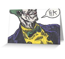 Mister J Greeting Card