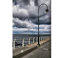 The storms rolling in! Photographic Print