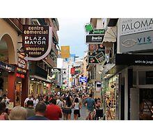 Calles de Espana! Photographic Print