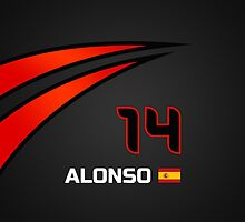 F1 2015 - #14 Alonso [revised] by loxley108