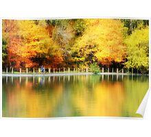 Fall at Lake Loon Poster