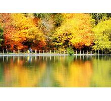 Fall at Lake Loon Photographic Print