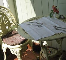 Garden Cafe Place Setting Woodstock by nhutch01