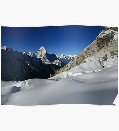 Ama Dablam East Face Poster