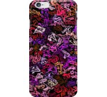 Red Purple Mix-Up iPhone Case/Skin
