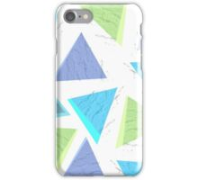 Triangles and Bricks iPhone Case/Skin