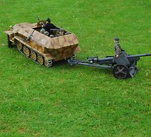 Hanomag Armoured Semi-Track. by Tony Dewey
