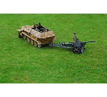 Hanomag Armoured Semi-Track. Photographic Print