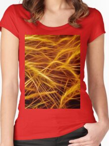 Blowin' in the Wind Women's Fitted Scoop T-Shirt