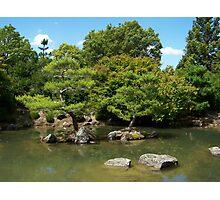 Zen lake Photographic Print