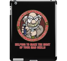 Mad Scientist Bartending School iPad Case/Skin