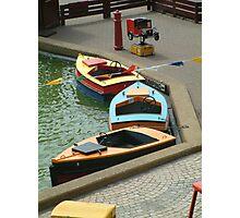 Boat Park Photographic Print