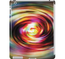 Colour Distortion Abstract iPad Case/Skin