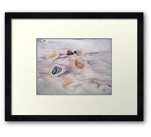 Sand Art Framed Print