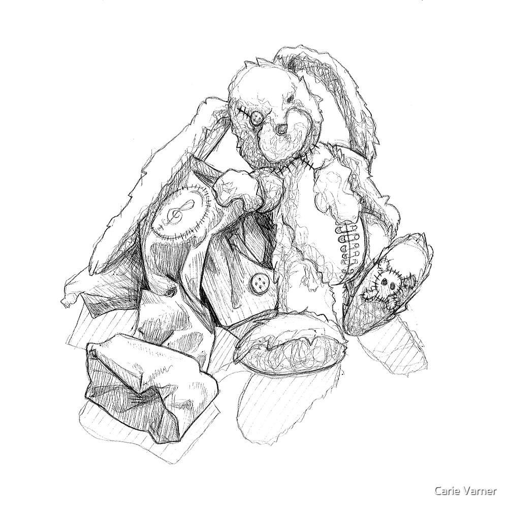 Punk rabbit by Carie Varner