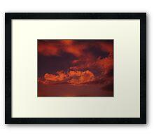 Sunset 1 Framed Print